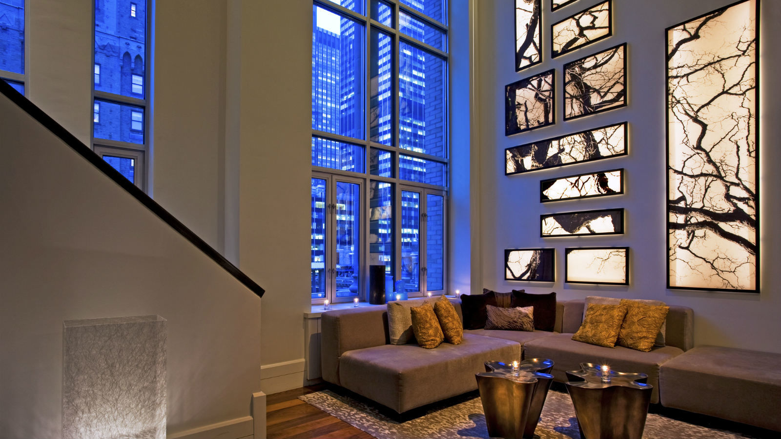 Wow Suite Living Room at W New York