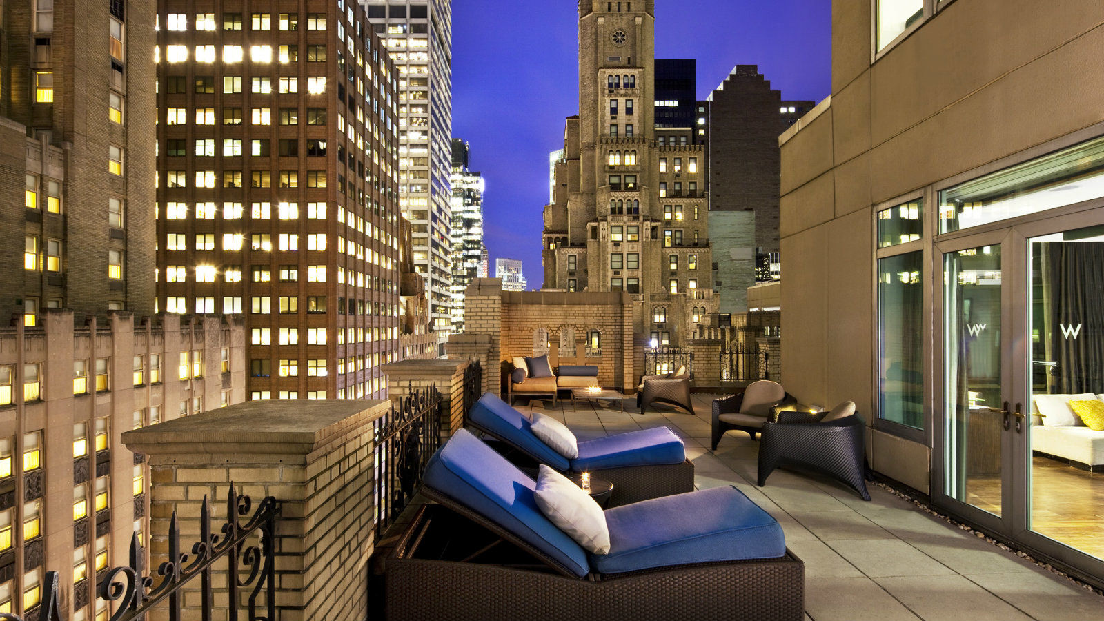 Extreme Wow Terrace at W New York